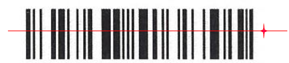 how to read barcode without numbers