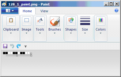 Figure 1. Paint Screen Capture